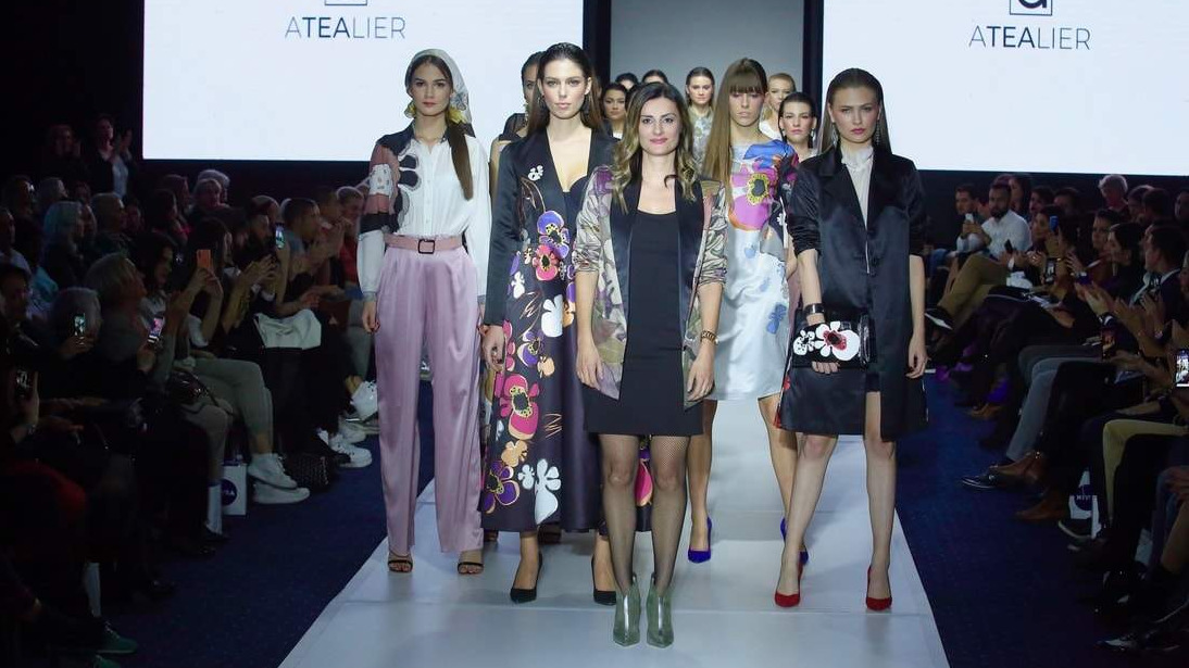 FASHION SHOW AT SARAJEVO FASHOIN WEEK - Collection Petit Trianon SS/20